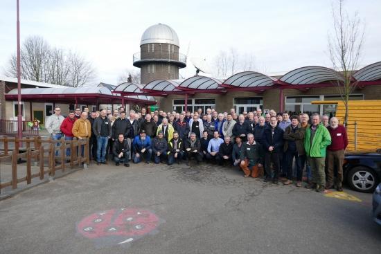 Groepsfoto Astrofotografiedag 2017