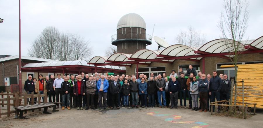 Groepsfoto Astrofotografiedag 2018