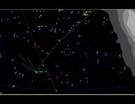 Komeet PANSTARRS aan de horizon