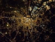 Antwerpen vanuit ISS