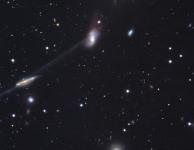 Claude Doom en botsende sterrenstelsels