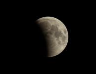 Gedeeltelijk Maansverduistering 16 juli 2019