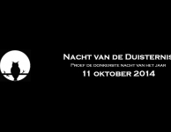 De Nacht van de Duisternis 11 oktober 2014