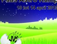Het Paas Astro Kamp 2013