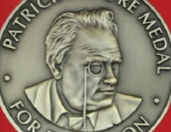 Patrick Moore FRS FRAS medaille