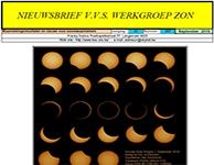 Nieuwsbrief september 2016 Werkgroep Zon