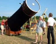 Teleskoptreffen in Vogelsberg Duitsland.
