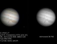 Jupiter op 1 feb. 2012