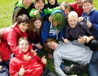 Gras groepsfoto