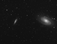 M81 en M82 26 x 5 min Luminance