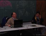 Frank geeft korte presentatie over de waar te nemen objecten.