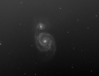 M51 8 x 15 min Luminance