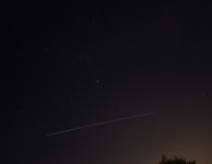 15 juni 2013 ISS boven sterrenbeeld Maagd