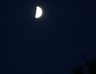 Maan & Saturnus 22 aug 2015