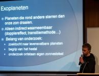 Michiel Vervloet spreekt over de detectie van exoplaneten via het Dopplereffect