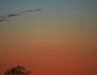 Komeet Panstarrs en maansikkel op 12 maart 2013