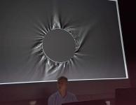 Processed Eclipse Image by Tom Alderweireldt