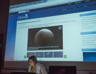 Hilde Willemsen over de Totale Maansverduistering 28-sep-2015 bij Urania