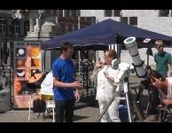 Transit Mercurius op de Grote Markt van Herentals, foto: Koen Geukens