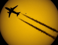 Dubbele transit: Mercurius en vliegtuig, foto:Yvan Van Geluwe