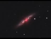 Supernova in M82