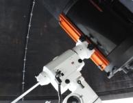 Celestron C11 telescoop op de Skywatcher EQ6pro montering