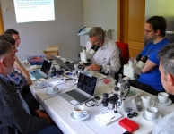 Meteorieten en tektieten onder microscoop