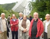 Andromeda bij de radiotelescoop te Effelsberg