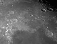 De maan op 2 maart