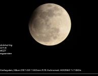 Maansverduistering 25 april 2013 vanuit Hoegaarden