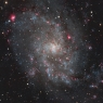 M33,Triangulum Galaxy in Triangulum