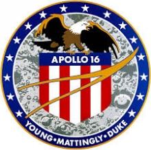 1972 : Apollo 16 telescoop op de Maan