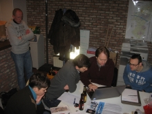 Vergadering (10/02/2012) - Werken voor de Tentoonstelling.