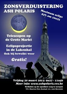 Gedeeltelijke zonsverduistering in Herentals
