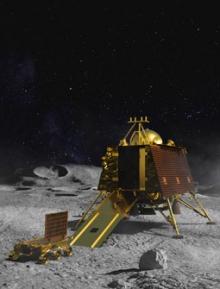 Landt India vanavond (vrijdag 6 september) op de Maan ?