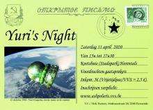 Yuri's Night - zaterdag 11/04/2020