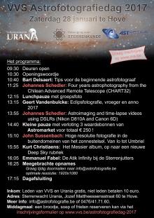 Programma Astrofotografiedag 2017