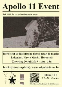 Vijftig jaar geleden - De eerste maanlanding: Apollo 11 Event.