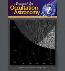 Journal for Occultation Astronomy 4-2019