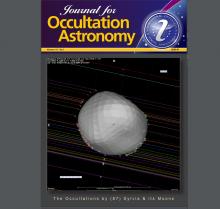 Journal for Occultation Astronomy 1/2020