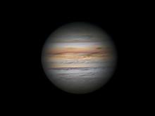 Maan en planeten - augustus