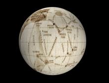 145 jaar Mars globes