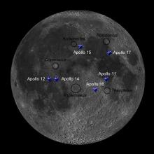 """VVS Klein-Brabant, dinsdag 3 september 2019, André Van der Elst: """"De Apollo landingsplaatsen en wat kunnen we ervan waarnemen?"""""""