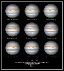 Jupiter op 15 augustus 2012