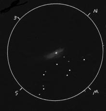 Schets van M31