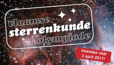 Vlaamse Sterrenkunde Olympiade gaat van start !