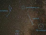 Oproep: waarnemingen Nova Del 2013