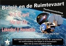 Ruimtevaart Tentoonstelling in Herentalse Lakenhal.