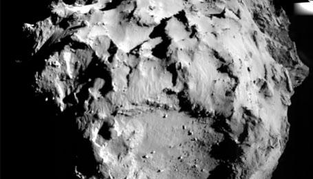 Historische komeetlanding: Philae landt op komeet 67P/Churyumov-Gerasimenko